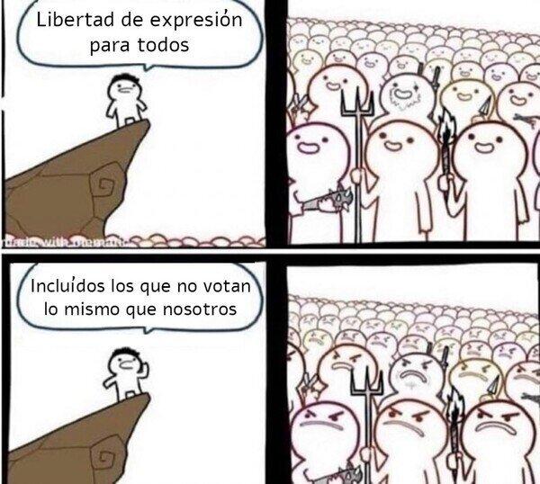 Meme_otros - Libertad... pero no mucha