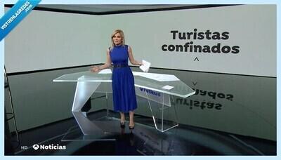 1289 - Antena 3 se lleva la ovación de Twitter por una sola frase sobre el coronavirus