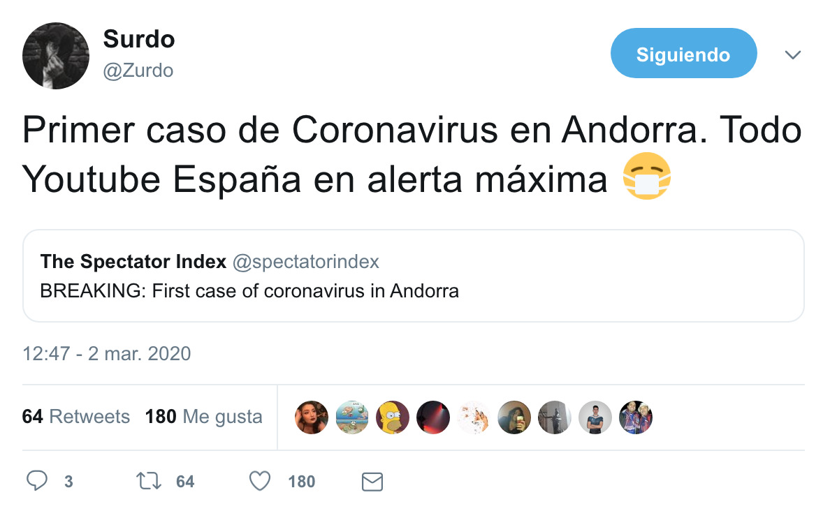 1589 - El coronavirus tampoco quiere pagar impuestos, por @Zurdo