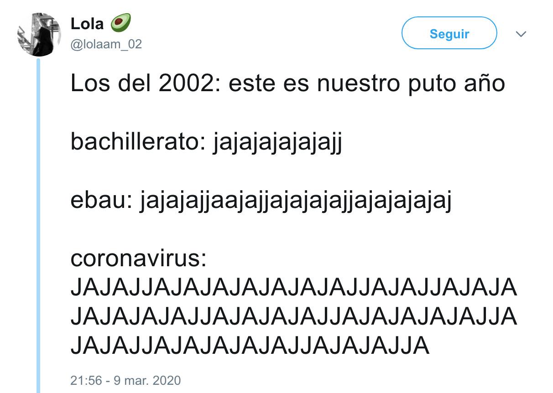 2078 - Los del 2002 están gafados, por @lolaam_02
