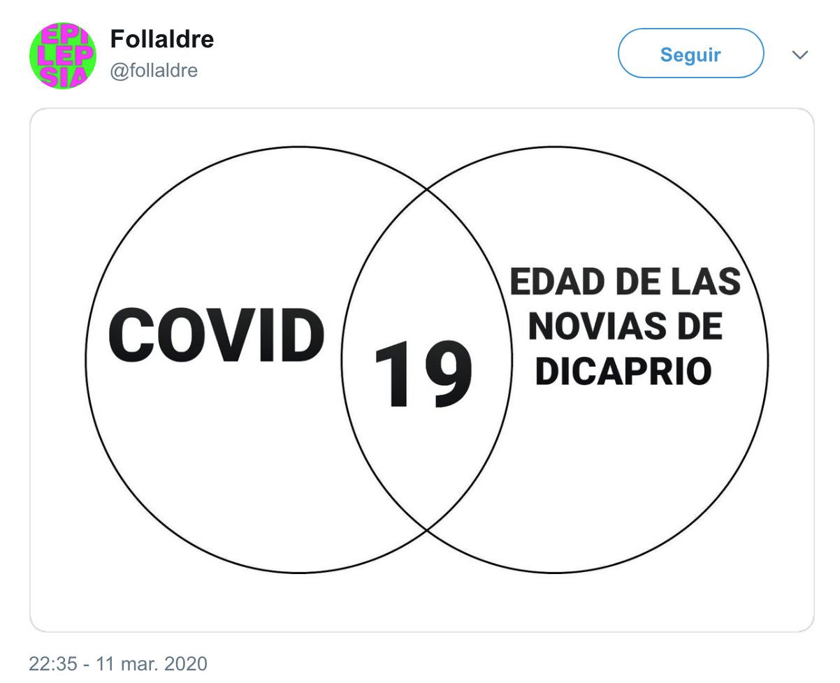 2181 - El mejor tweet que he visto del coronavirus, por @foIIaldre