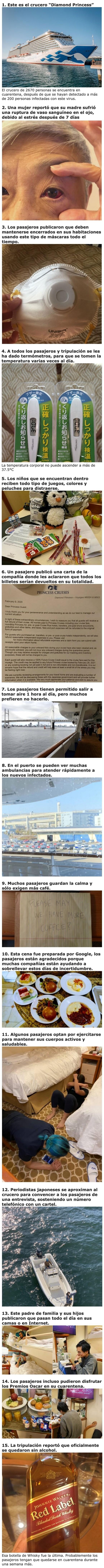 2871 - Fotos de las personas que están atrapadas en el crucero del coronavirus