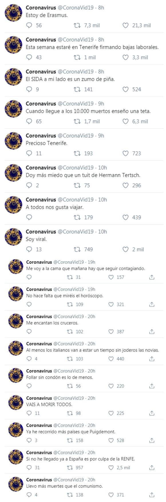 2951 - Coronavirus tuitero