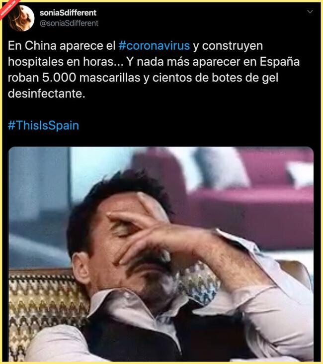 3870 - España no es un país evolucionado