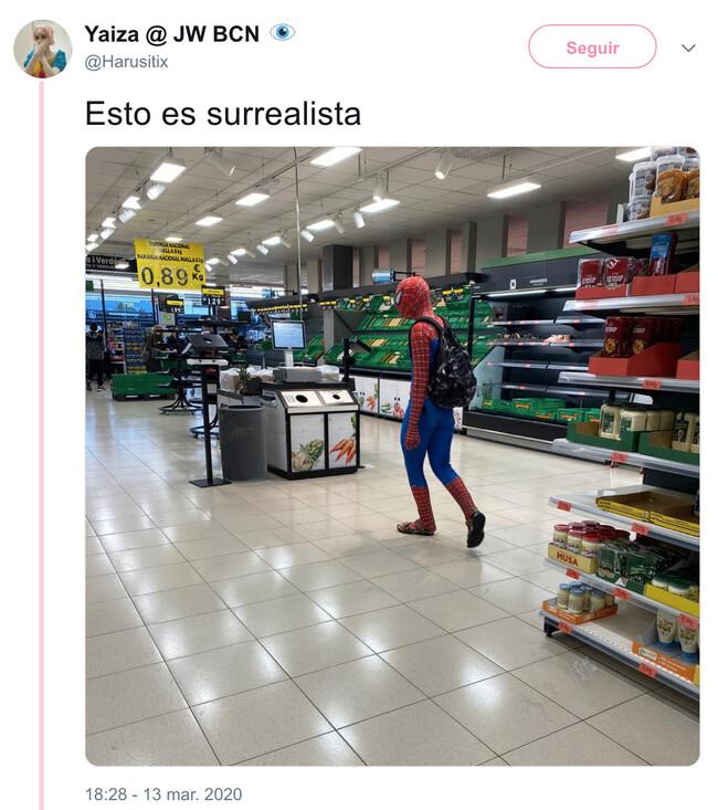 4589 - Peter Parker también se protege, por @Harusitix
