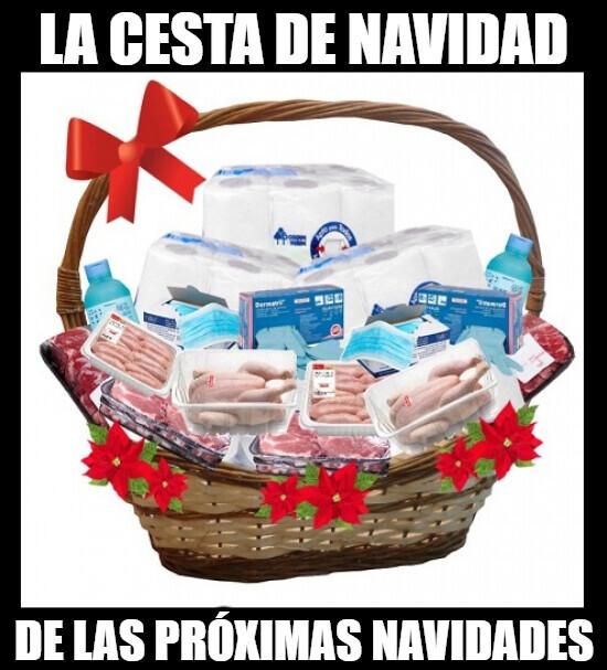 6031 - Esperemos que no lleguemos a Diciembre así, si no está será la cesta de Navidad...