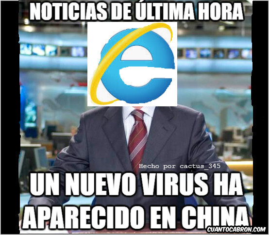 7072 - Si Internet Explorer diera las noticias
