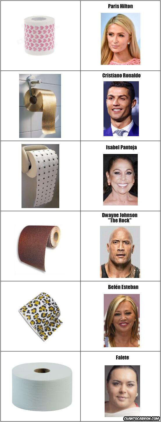 7324 - Así será el papel higiénico que compran estos famosos con esto de la cuarentena...