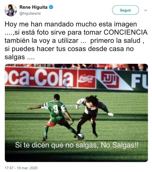 7383 - Genial la foto del ex-futbolista René Higuita para tomar conciencia