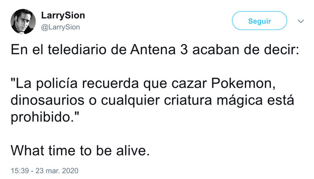 7394 - What a time to be alive, por @LarrySion