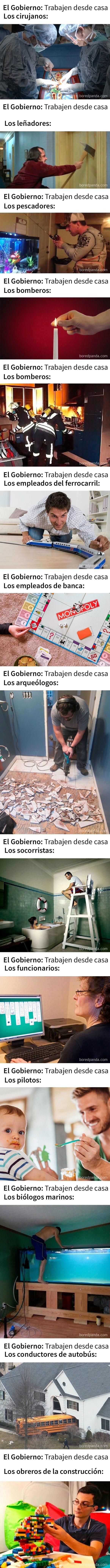 8707 - Memes sobre trabajo remoto que entenderán aquellos que no puedan trabajar desde casa