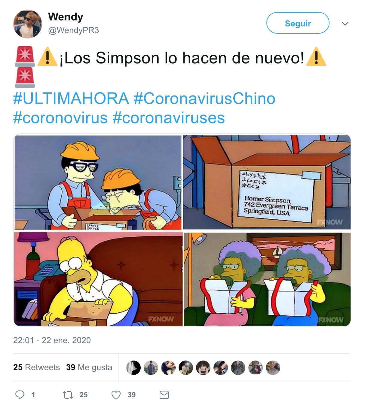 891 - Los Simpson lo vuelven a hacer y predijeron el coronavirus