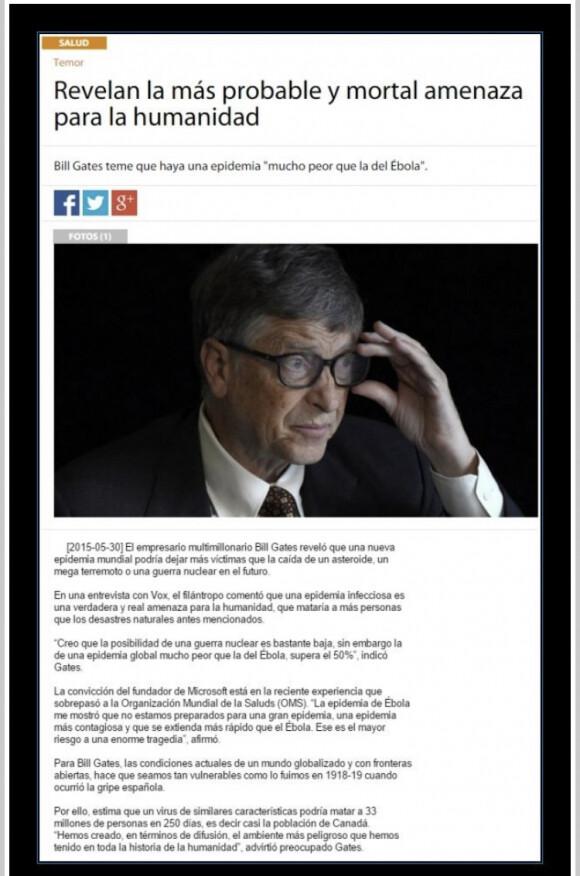 10198 - Bill Gates ya lo sabía desde hace 5 años