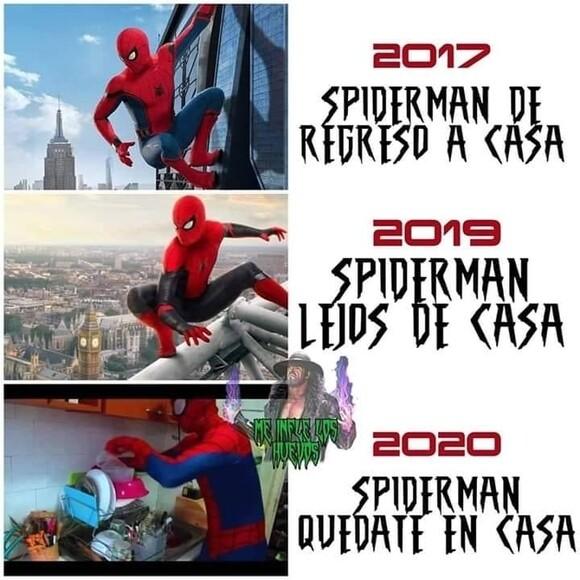 10704 - Evolución de los títulos de las películas de Spiderman
