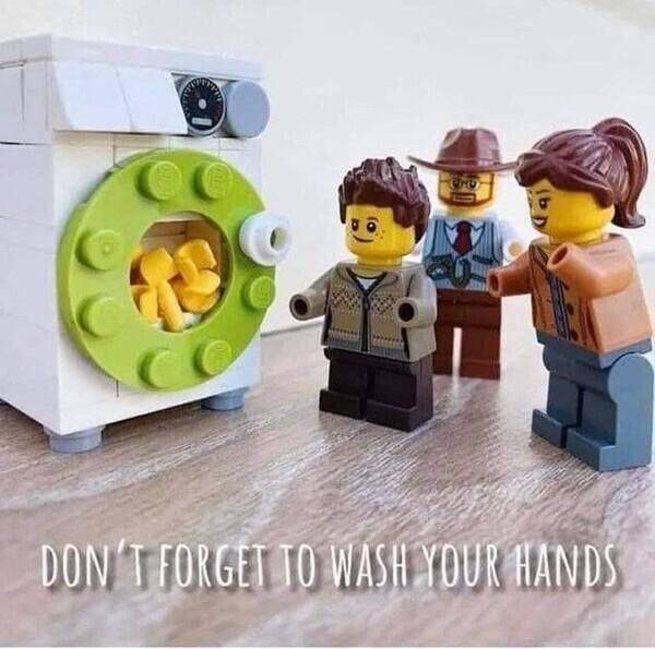 11737 - Haz como los legos, lávate las manos