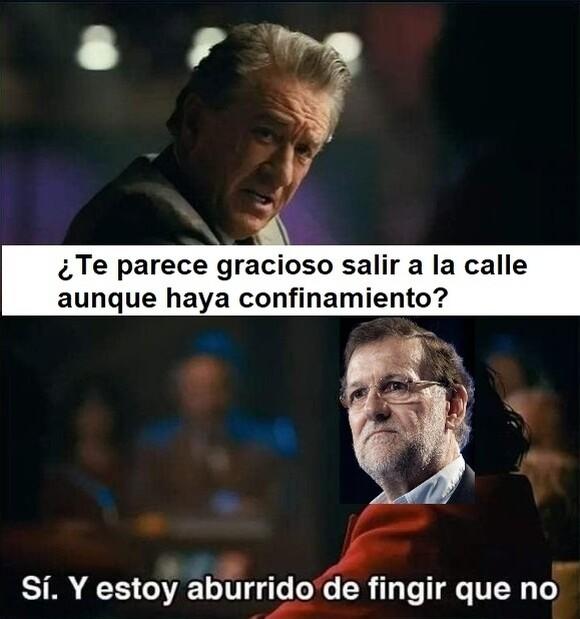 12916 - Rajoy pasa del confinamiento