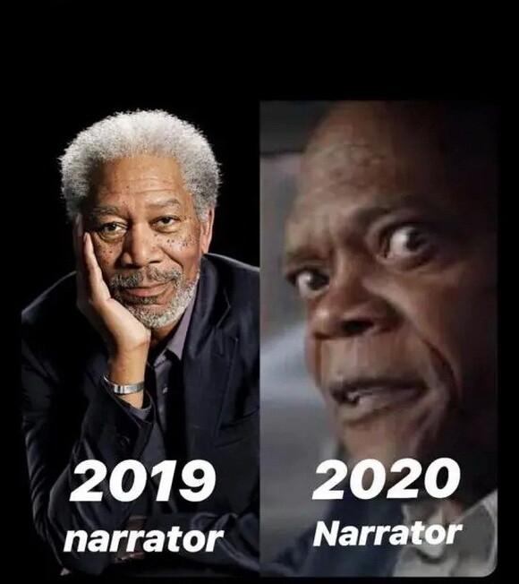 12951 - Narrador de 2019 VS Narrador de 2020