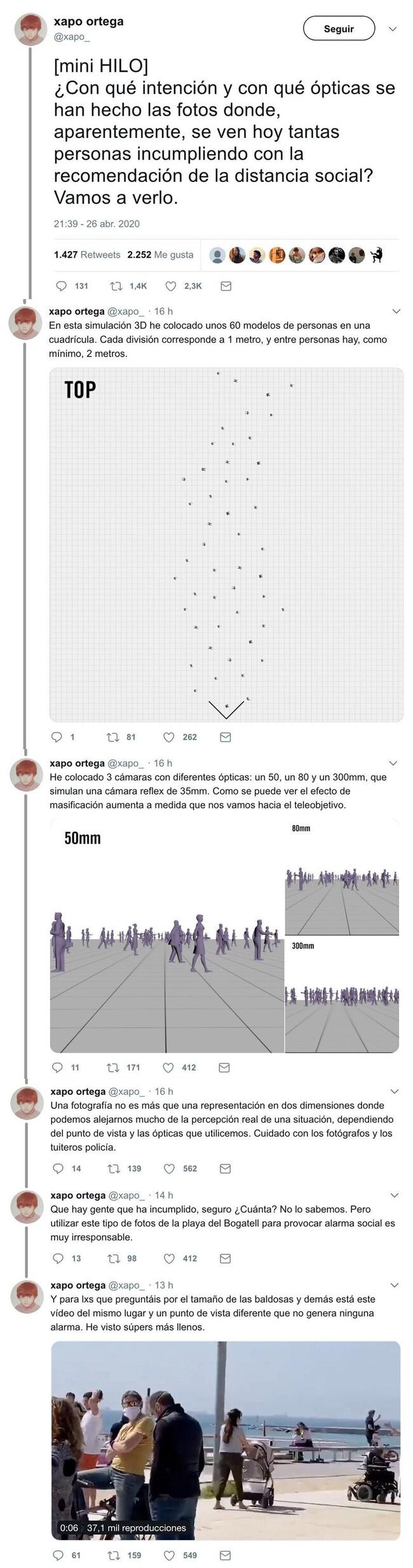 13541 - Toda la verdad y explicación lógica de las fotos que se difundieron ayer con las calles llenas de gente y de niños, por @xapo_
