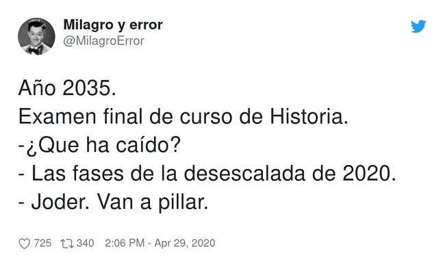 14139 - ¿De historia de España o contemporánea?, por @MilagroError