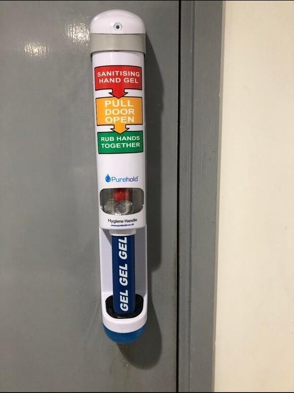 14246 - Puerta anti-contagios