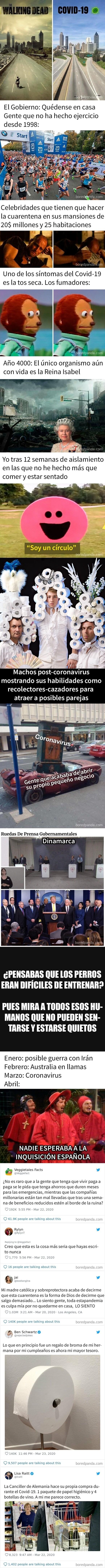 9278 - Bromas sobre la crisis del Coronavirus para ayudarte durante la cuarentena