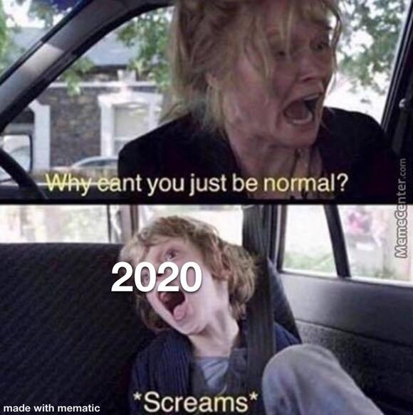 9940 - ¿Por qué no puedes ser un año normal?