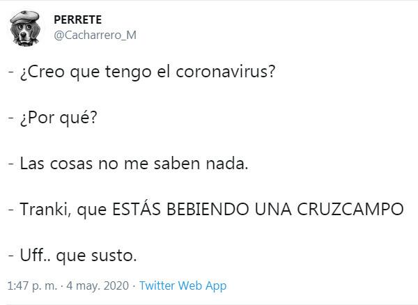 14888 - Los síntomas del covid19, por @Cacharrero_M