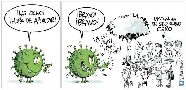 15814 - Nos estamos ganando los aplausos del virus