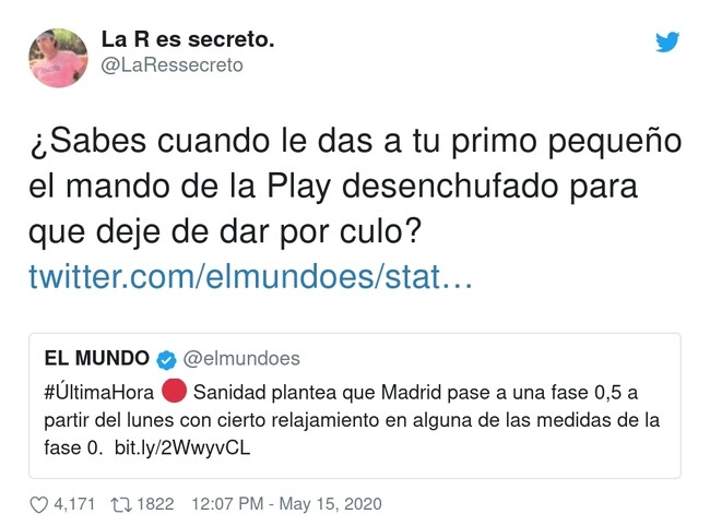 16063 - Nos van a levantar restricciones antes de tiempo, porque los pijos más pijos de Madrid mandan, por @LaRessecreto
