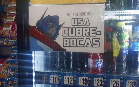 18089 - Optimus Prime ha hablado