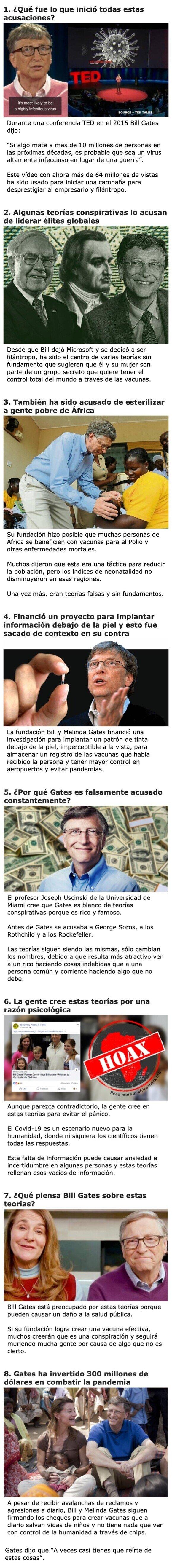 18155 - Razones para que la gente entienda de una vez por todas que Bill Gates NO provocó el Covid-19