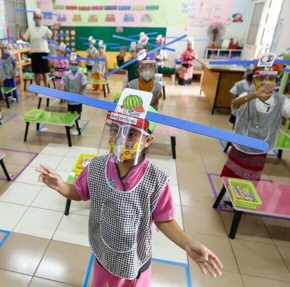 18180 - La nueva normalidad en los colegios de Tailandia