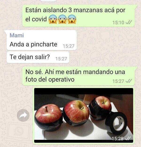 19252 - Aislando manzanas