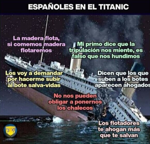 19397 - Si el Titanic se hubiera hundido en 2020