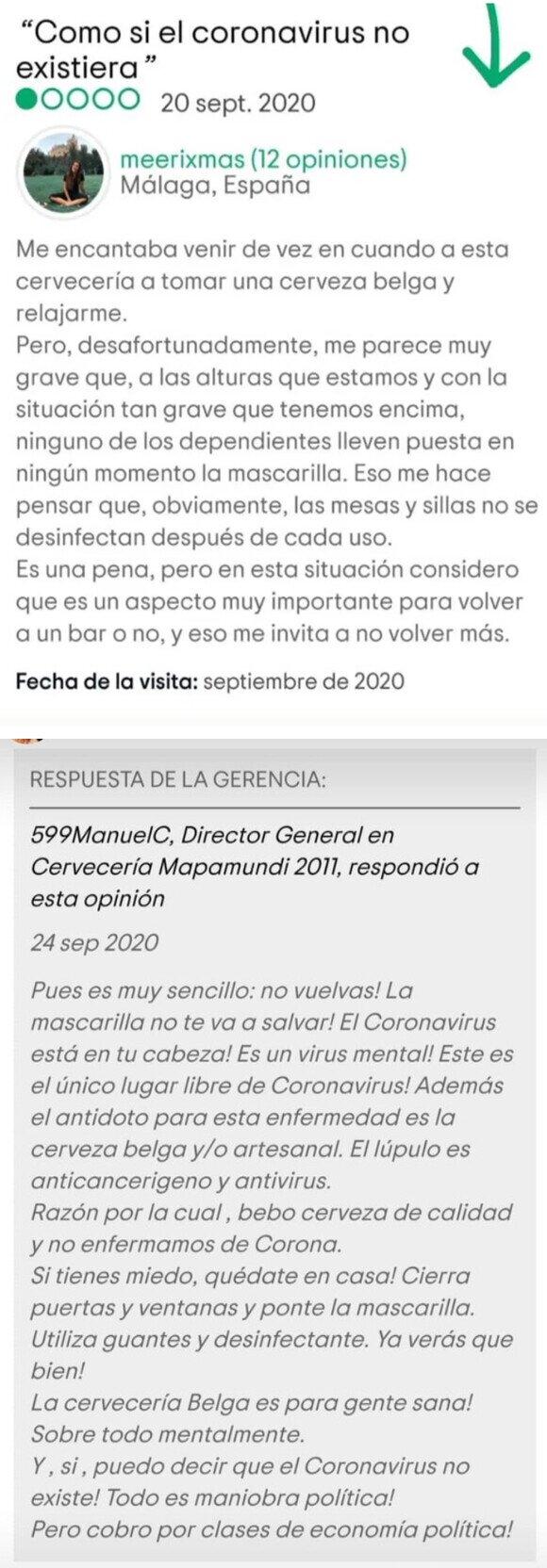 20078 - Bar negacionista