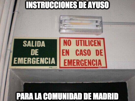 20176 - Instrucciones de Ayuso para Madrid