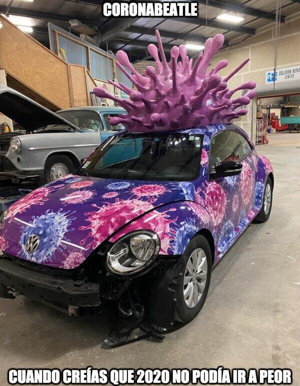 20229 - Imagina, cuando este coche se planta en la entrada de tu casa, es que has pillado