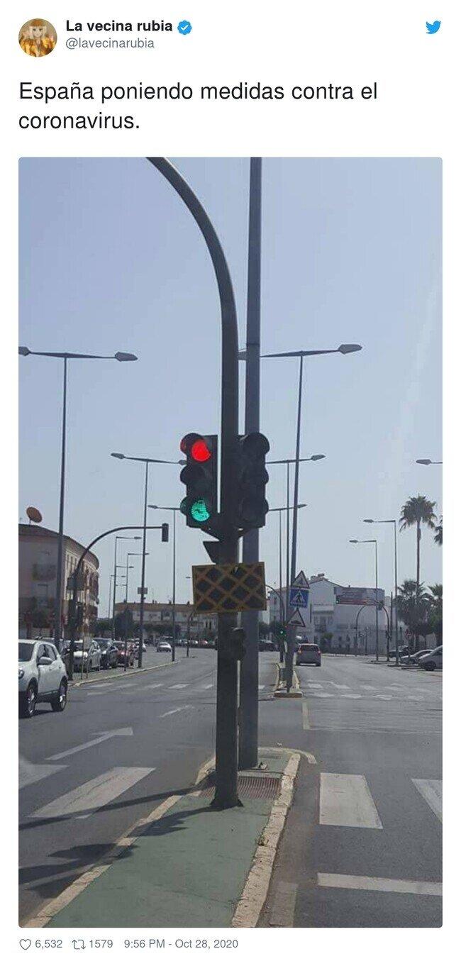 20428 - Si los semáforos los pusiera Ayuso, por @lavecinarubia