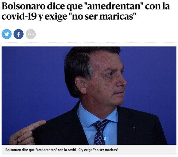 20721 - Bolsonaro en su línea