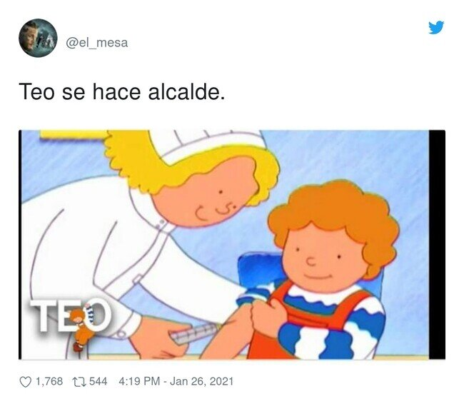 21913 - A Teo le hace reacción la vacuna, por @el_mesa