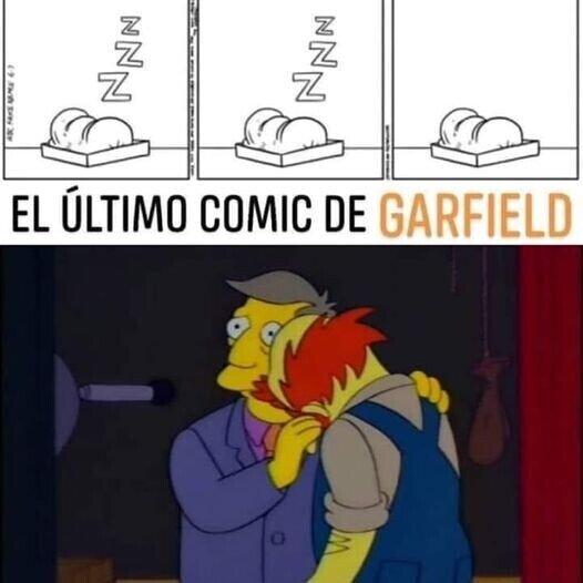 22075 - El último cómic de Garfield