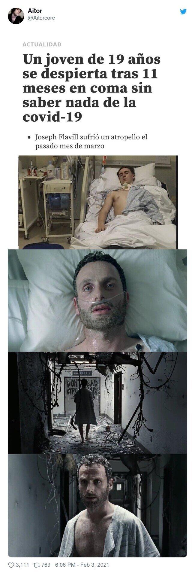 22165 - El chaval: ¿Me puedo volver a dormir entonces?, por @Aitorcore