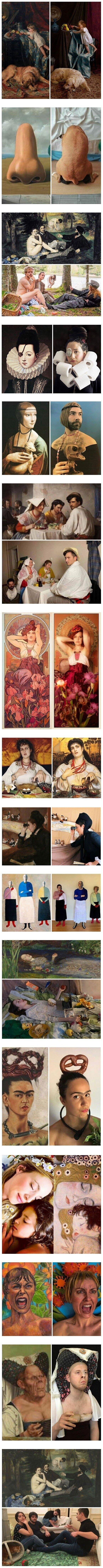 23084 - Recreaciones de pinturas hechas durante la cuarentena