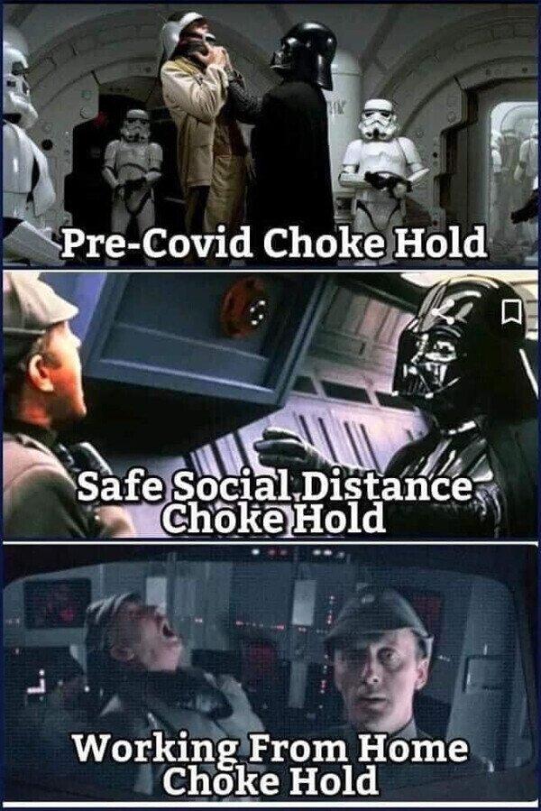 23239 - Darth Vader y las fases de la pandemia