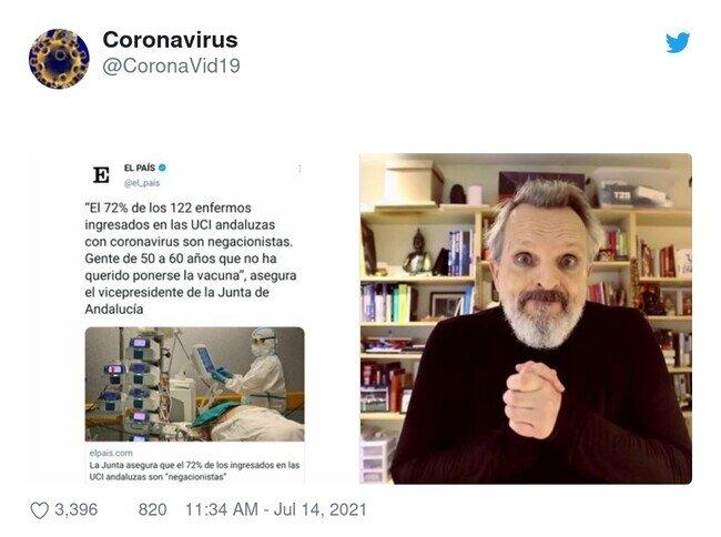 23588 - El que no se quiera vacunar, que asuma las consecuencias. Yo les haría pagar la atención médica, por @CoronaVid19