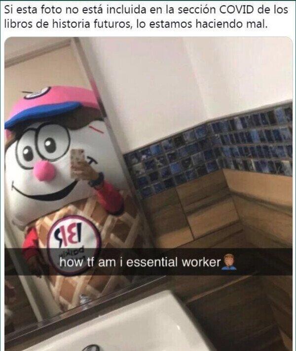 23617 - Trabajador esencial