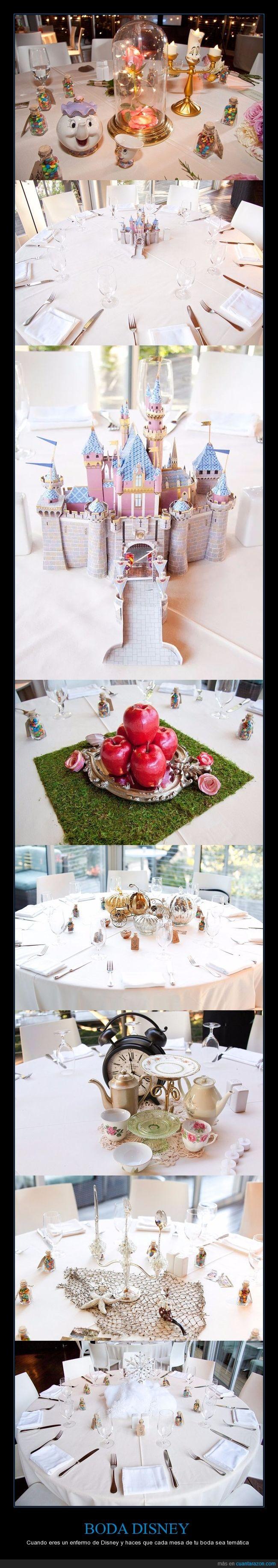 boda,cubiertos,disney,mesas,temática