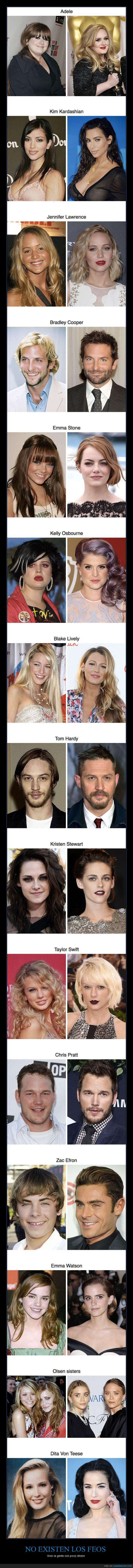 aspecto,cambio,estilistas,famosos