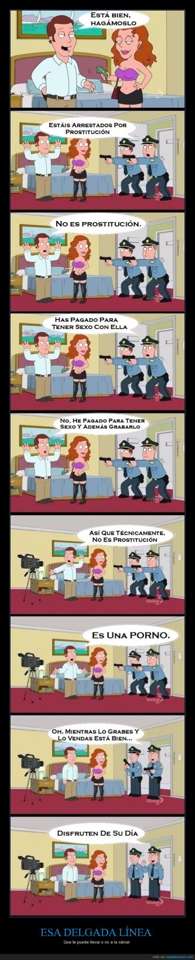 filmar,policía,prostitución,vídeo x