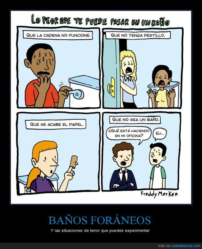 baños,miedo,situaciones,wc